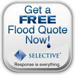 Square Flood Quote
